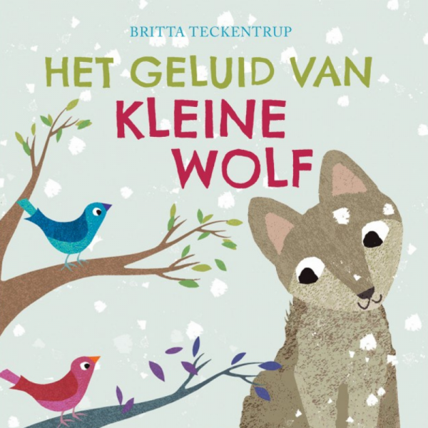 Geluid van kleine wolf kinderboek